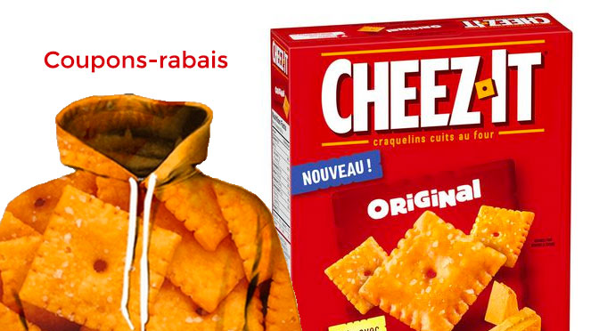 Coupon-rabsi cheez it de 1$
