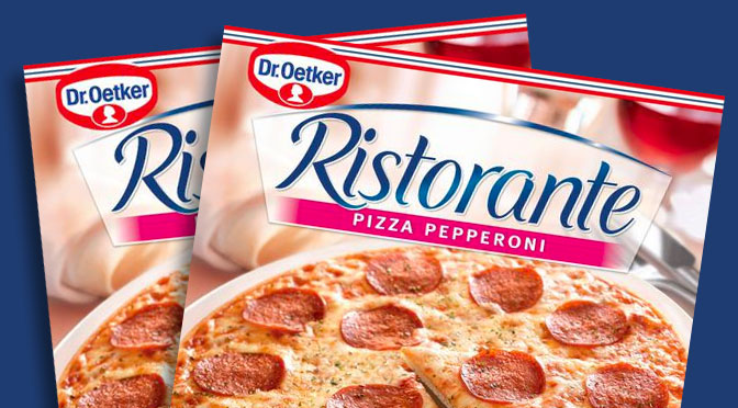 Coupon-rabais Pizza Ristorante Dr.Oetker