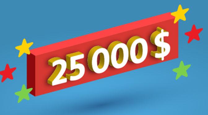 Événement 5 ans Familiplus 25000 en point recompense