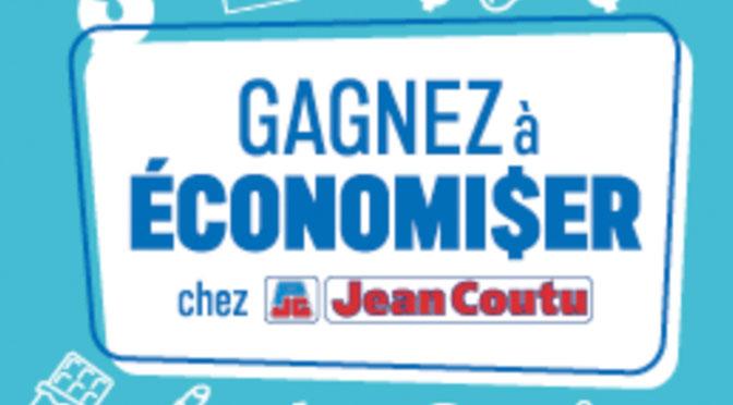 Gagnez à économiser chez Jean Coutu 4 chèques de 25000$