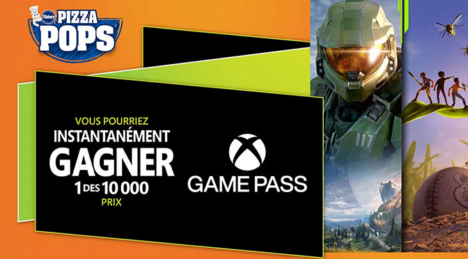 Concours Pizzapop Xbox Game Pass Ultimate