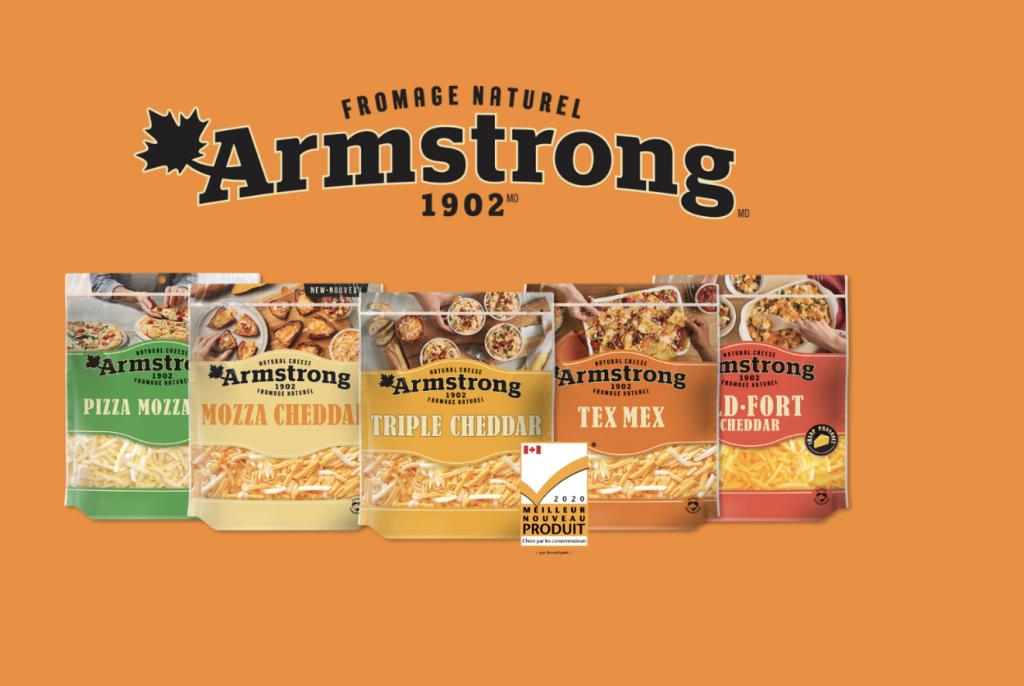 Coupon-rabais Fromage Armstrong